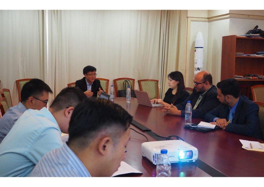 Reunión Embajada de China 2019